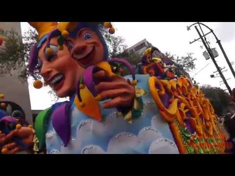 Rex Parade Excerpts - Mardi Gras 2017 - February 28, 2017