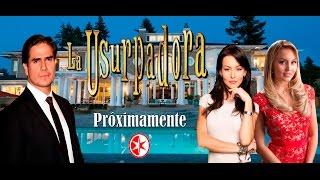 Telenovela La Usurpadora 2016 Angelique Boyer y Daniel Arenas