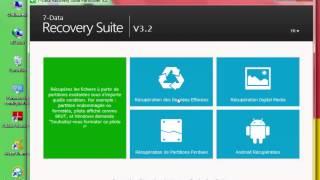 الدرس : شرح كيفية تحميل و تفعيل برنامج 7-Data Recovery  لإسترجاع الملفات المحذوفة