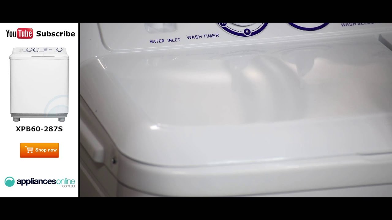 6kg Haier Twin Tub Washing Machine XPB60 287S reviewed by ...