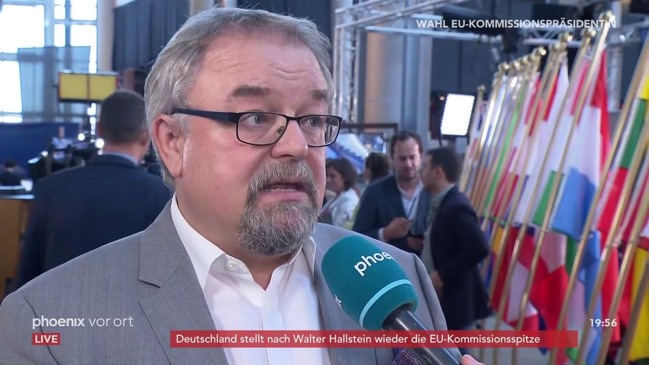 Download Jens Geier zur Wahl Ursula von der Leyens zur EU-Kommissionspräsidentin am 16.07.19