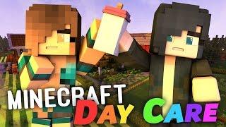 Minecraft Daycare - MY NEW JOB! (Minecraft Roleplay) #1