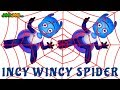 Incy Wincy Spider | Itsy Bitsy Spider Song For Kids | JoeJoe TV Nursery Rhymes
