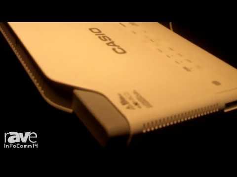 InfoComm 2014: Casio Showcases Slim Series Projectors