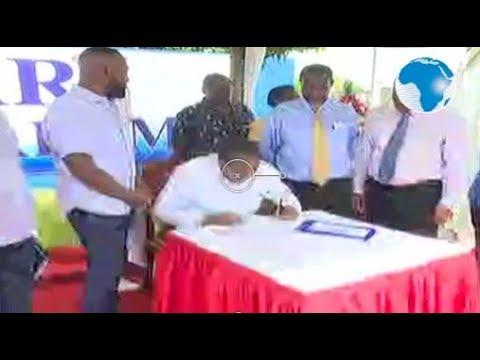 President Uhuru in Mombasa to commission Bandari Maritime Authority