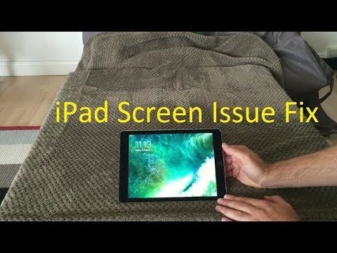 iPad Screen Problem And Fix, How To Fix Flickering iPad LCD Without Replacing LCD