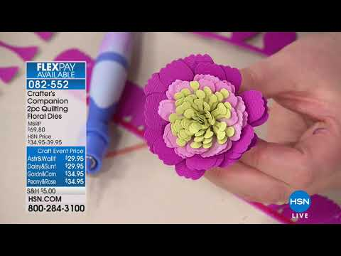 HSN | Crafter's Companion 03.07.2018 - 02 AM