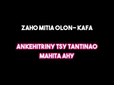 Taa Tense - Tsy tiako intsony (KARAOKÉ)