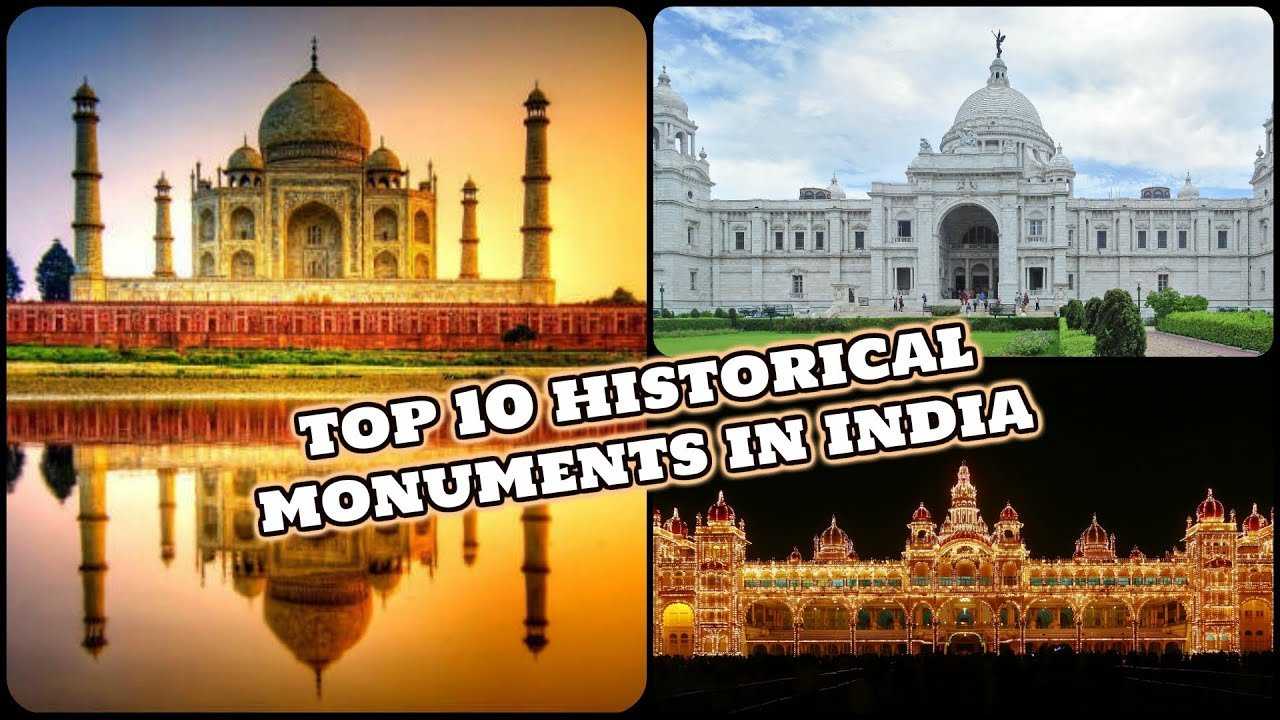 top 10 historical monuments in india best tourists destinations