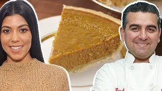buddy valastro vs kourtney kardashian whose pumpkin pie is better?