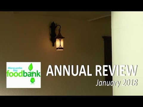 Morecambe Bay Foodbank Annual Review At St Barnabas In The West End