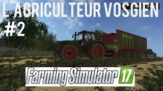 farming simulator 2017 carriere suivie ep2 on ramasse la paille en vrac