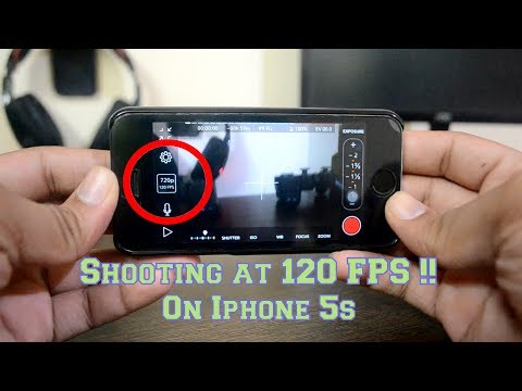 (HINDI) How To Shoot 120/60 FPS on Iphone 5/5s or On Iphone 6 {Iphone Hacks) My First 60 Fps Video !