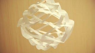 Бумажный фонарик. Как сделать фонарики.(В видео показано как сделать фонарик из бумаги за несколько минут своими руками., 2014-06-04T10:14:08.000Z)