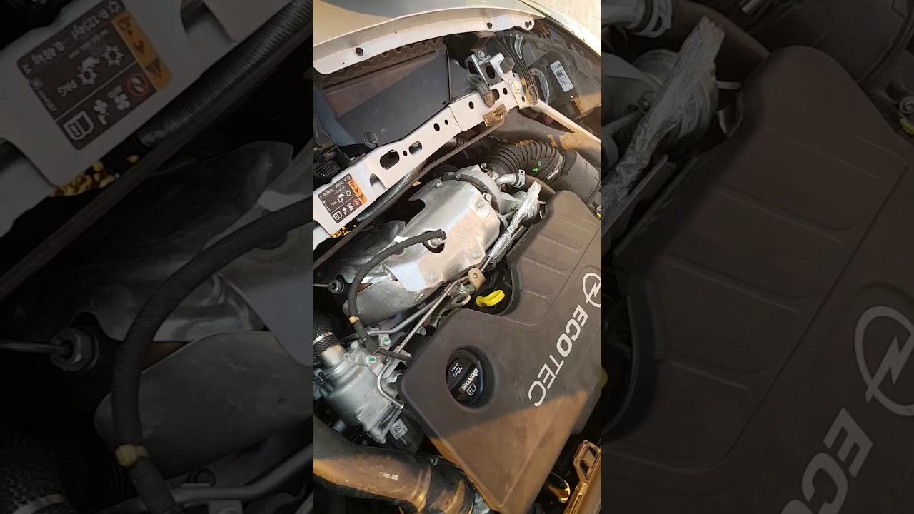 Engine Sound Astra K Problem Youtube