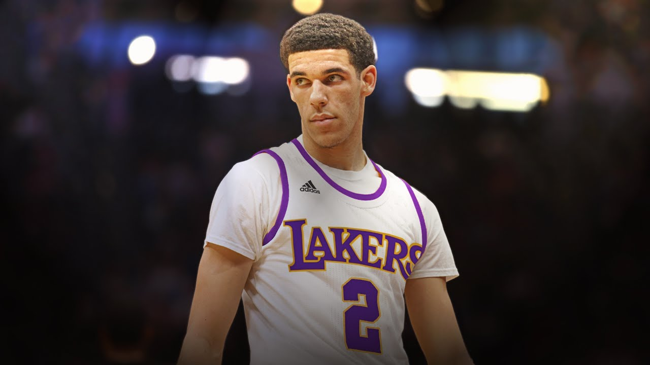 Lonzo Ball Los Angeles Lakers Art Wallpaper Youtube