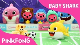 Sharky Pokey | Baby Shark | Pinkfong Plush | Pinkfong Songs for Children