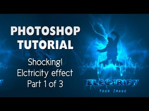 Electricity Effect Photoshop Tutorial