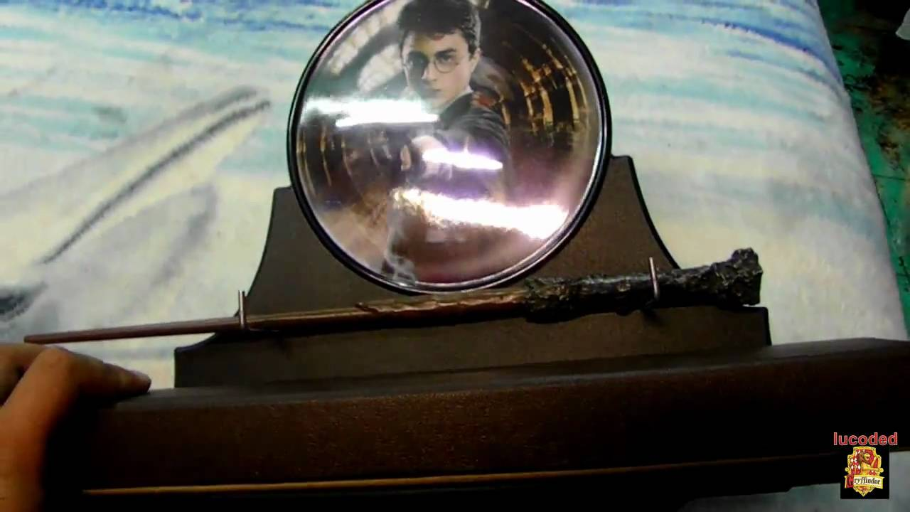 Harry potter wand and display wall by noble collection for Elder wand display