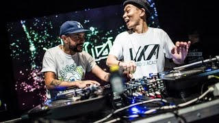 10 min with DJ Craze and DJ Kentaro at the 2015 Red Bull Thre3style...