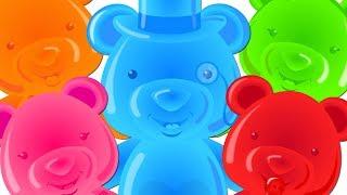 Five Little Bears | Kindergarten Songs And Videos For Babies by Kids Tv