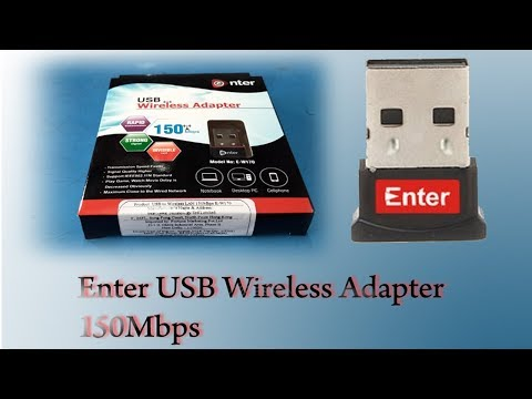 Enter 150 Mbps USB Wireless Adapter