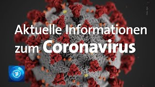 Coronavirus in Deutschland: Update des Robert Koch-Instituts