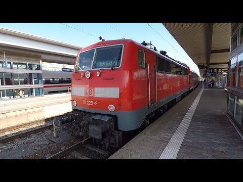 Mitfahrt im Regional-Express von Regensburg Hbf nach Nürnberg Hbf