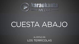 Karaokanta - Los Terrícolas - Cuesta abajo