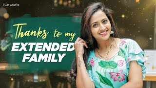 A Big Thank You to My Extended Family | Lasya Talks | Latest Video After Bigg Boss | Lasya Manjunath