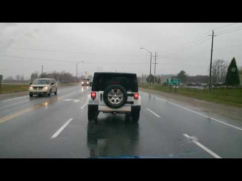 Kingsville to Windsor, Highway 3 + Walker Road