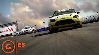 GRID Autosport Gameplay Demo - Tight Racing Action and Hairpin Turns - E3 2014