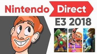 NINTENDO E3 2018 - Live Reaction [AnimationEpic]