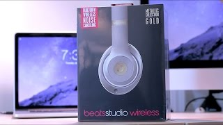Beats Studio Wireless Unboxing(Buy them here: http://amzn.to/1IcQ35C I'm still working on the winner of the name of my new tweak series. Thank you for your patience., 2015-01-04T02:59:47.000Z)
