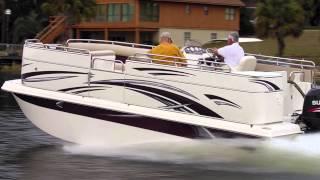 Carolina Skiff Fun Chaser Fgp 2100 Fiberglass Pontoon Boat