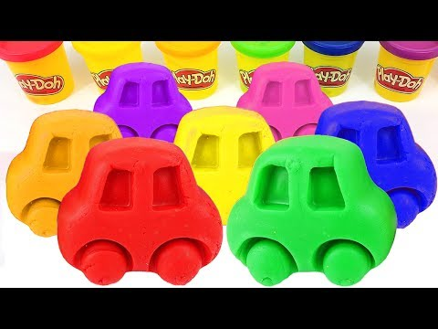 Thumbnail: Learn Colors with Play Doh Cars Molds and Minions Superhero Surprise Toys for Kids