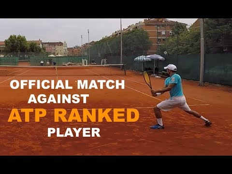 Official Tennis Match Against ATP Player - Futures $15k | Highlights (TENFITMEN - Episode 81)
