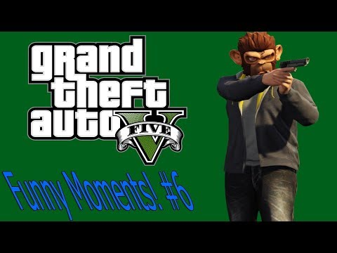 GTA 5 Funny Moments! (Getting High, Huge Explosions, On Fire) #6