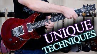 5 Unique Rock & Metal Guitar Techniques