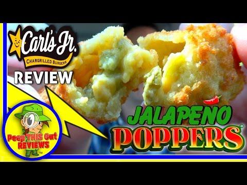 Carl's Jr.® | Jalapeño Poppers® Review! 🌶️🔥