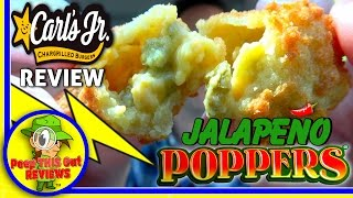 Carl S Jr Jalapeno Poppers Review Youtube