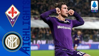 Fiorentina 1-1 Inter | Vlahovic Stuns Inter with a Last Minute Equaliser! | Serie A TIM