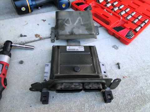 Nissan Quest 2004 - 2009 How to Check and Prevent ECM from Rusting