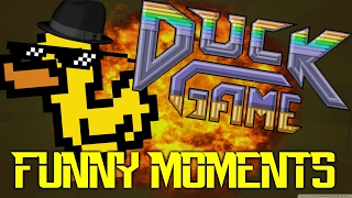 Duck Game - Funny Moments - feat. MolyneuxProject