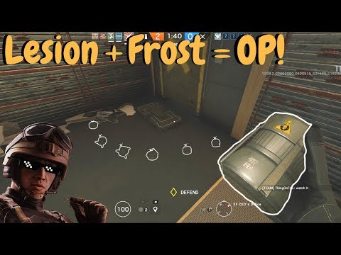 Ultimate Lesion Trap! - Rainbow Six Siege