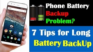 How to Increase Mobile Battery Backup(HINDI)| Android  Battery drain problem & solution|Earning Baba