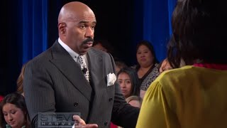 ask steve if marjorie was here i would do the exact same thing    steve harvey