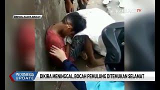 Viral! Dikira Meninggal di Pinggir Jalan, Bocah Pemulung Ditemukan Selamat