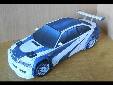 Bmw M3 Gtr Real Life >> [VašekVlog] BMW M3 Need For Speed Most Wanted|Paper Model - YouTube