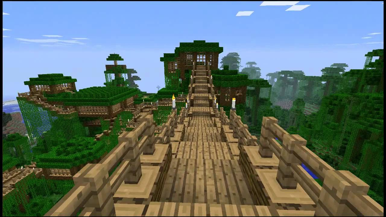 Minecraft Treehouse Quot Free Map Download Youtube